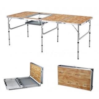 Складной стол 4-х секционный HBBQ1 Mimir Outdoor