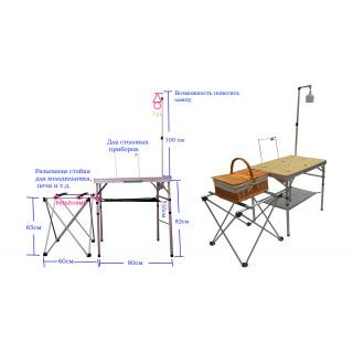 Многофункциональный складной стол BBQ751-1 Mimir Outdoor