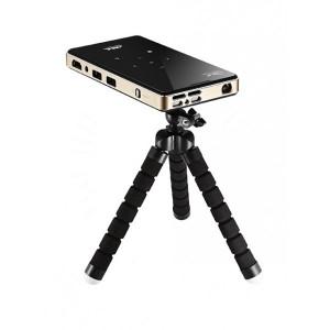 Портативный мини проектор DLP P09 способен воспроизводить видеофайлы высокого качества