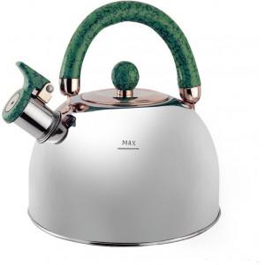"""Чайник """"Queen Ruby"""", QR - 9042  3,5 л. с зелёной ручкой"""