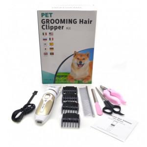 Машинка для стрижки животных Pet grooming hair clipper Kit A0009