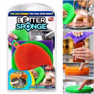 Набор универсальных силиконовых губок «Better Sponge» A-5BS