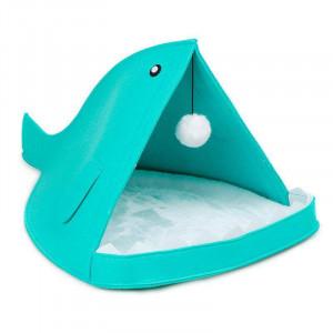 Домик для животных с игрушкой Рыбка X0060A