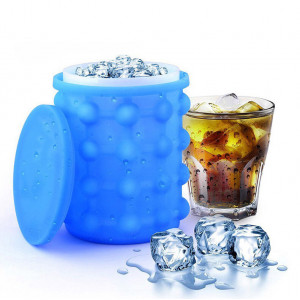 Универсальное ведро-форма для льда «Ice Cube Maker Genie» I-3ce