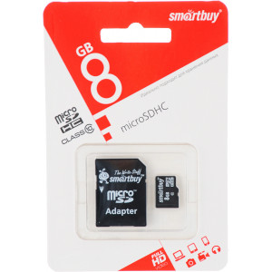 Smartbuy micro sd 8G 10 class