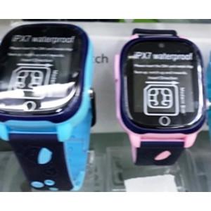 Умные детские часы с телефоном И GPS Трекером SMART BABY WATCH X3 (ГОЛУБОЙ)