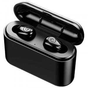 X8 TWS Mini Bluetooth-наушники Беспроводные бинауральные наушники-вкладыши - Чёрный