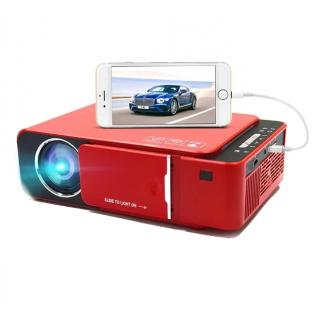 LED проектор Everycom T6 красный