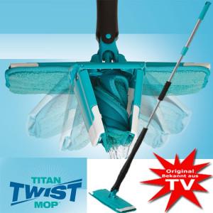 Швабра с отжимом Titan Twist