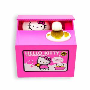 Интерактивная копилка - воришка монет Hello Kitty