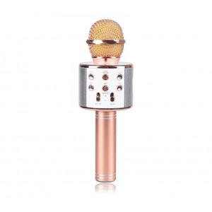 Беспроводной Bluetooth караоке микрофон HIFI WS-858