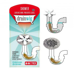 Приспособление для устранения засоров труб Цветок (Drain Wig - Shower)