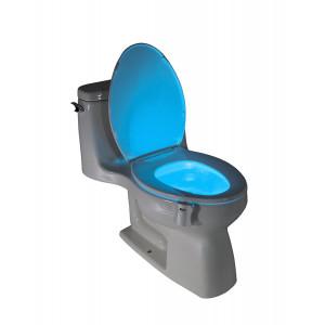 Подсветка для унитаза с датчиком движения Цветная LED Light Bowl