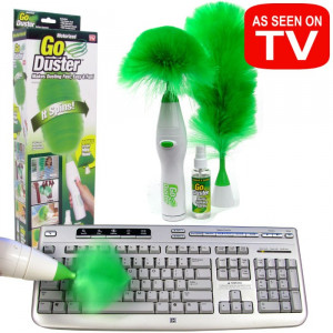 Щетка для удаления пыли (Go Duster Spin, Гоу Дастер Спин)