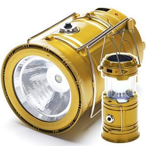 Светодиодный кемпинговый фонарь с солнечной батареей