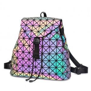 Геометрический неоновый рюкзак