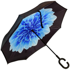 Зонт наоборот (Лазурный цветок) UPBRELLA