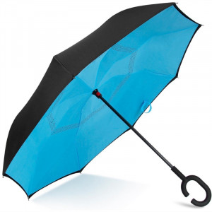 Зонт наоборот (Синий) UPBRELLA
