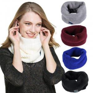 Вязаный шарф с Bluetooth