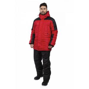 Куртка зимняя Европа, красный/черный 87472331