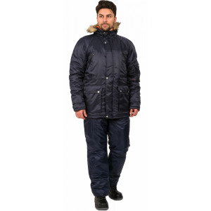 Куртка зимняя Аляска темно-синий 86016000
