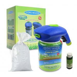 Жидкий газон Hydro Mousse (Распылитель, мусс , семена)