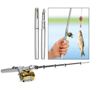Удочка мини в форме ручки Fishing rod in per case