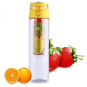 Бутылка со съемным отделом для фруктов Fruit Juice (Tritan Plastic)