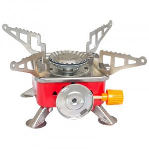 Напольная газовая горелка-плита с пьезоподжигом