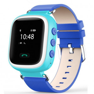 Детские часы с GPS маяком Smart Baby Watch Q60 S [Голубые]