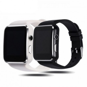 Смарт часы Smart Watch X6 (Черный/Белый)
