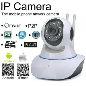 Видеокамера IP CAMERA CCTV P2P ONVIF HD 720P WIFI