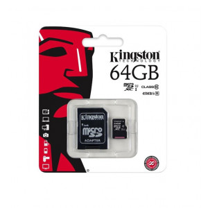 Карты памяти KINGSTON 64 Гб