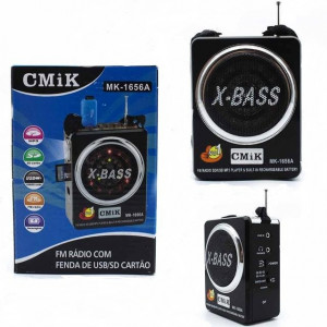 Радиоприемник FM/USB/SD CMiK MK-1656A black