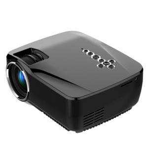 Портативный 3D-проектор GP70UP с Bluetooth, WI-FI, Android, TV (1200 люмен)