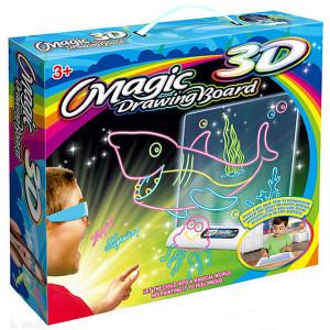 3D планшет для детей Magic Drawing Board (Акула)