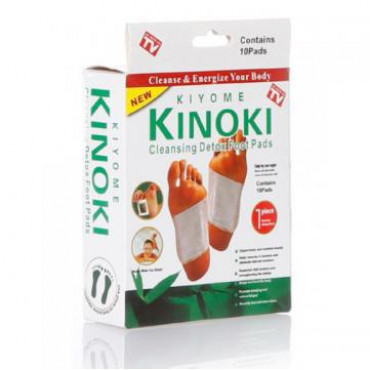Пластырь на стопы Kiyome KINOKI Cleansing Detox Foot Pads #0