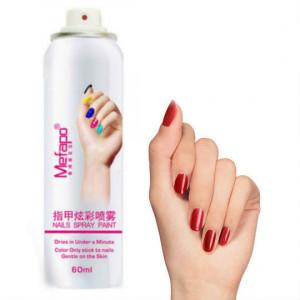 Лак-спрей для ногтей Mefapo