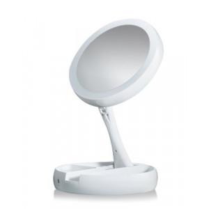 Косметическое настольное зеркало с подсветкой My Fold Jin GE
