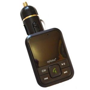 Автомобильный FM-модулятор с Bluethooth Eplutus FB-03