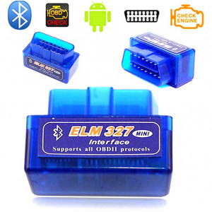Автосканер Bluetooth Elm 327 Obd2 Mini 2,1