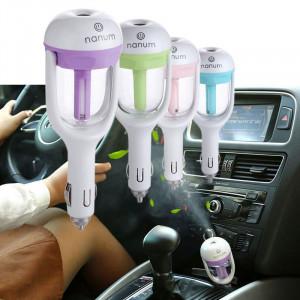 Портативный освежитель и увлажнитель воздуха в автомобиль Car Humidifier