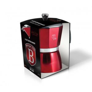 Кофеварка на 3 чашки Berlinger Haus Burgundy BH-6387