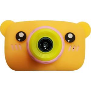 Детский цифровой фотоаппарат Zoo Kids мишка с ушками