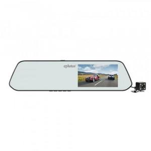 Видеорегистратор-зеркало с 2-я камерами Eplutus D01