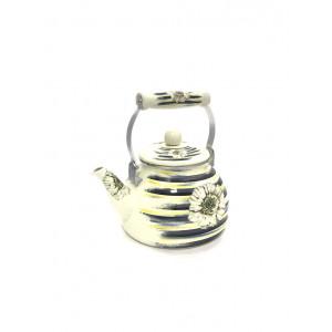 Чайник Hoffmann эмалированный с сеткой HM-4565 1,5л
