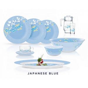 Столовый сервиз LUMINARC JAPANESE BLUE 46 предметов на 6 персон N6262