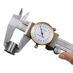 Профессиональный  штангенциркуль стрелочный RST-1-073