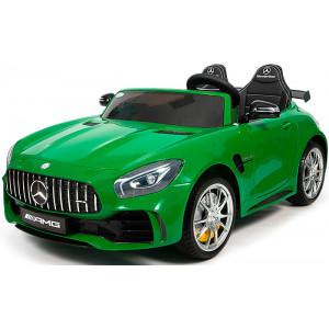 Детский двухместный электромобиль Mercedes Benz GTR 4x4 HL289