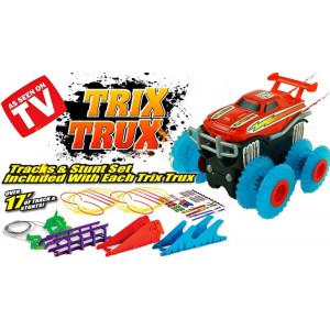 Набор 2 машинки на канатном треке Trix Trux
